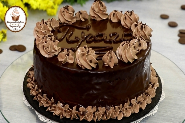 "Торт ""прага"" (""пражский"" торт) почти по госту"