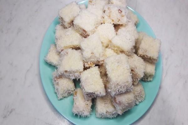 Молочный десерт с арахисом