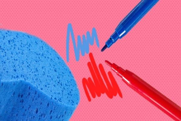 Как легко удалить следы от маркера с разных поверхностей
