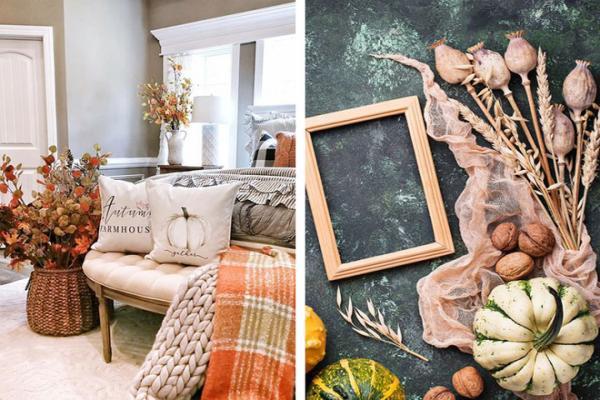 Осенний декор для дома: 7 красочных идей