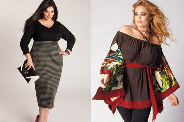 Одежда для полных девушек: как выбрать