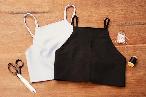 Как сделать из старой футболки модный топ: пошаговая инструкция