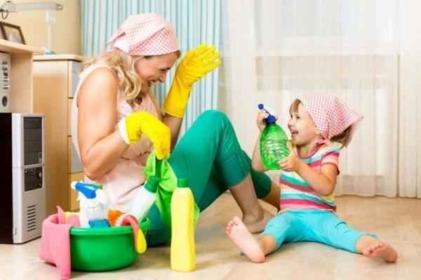 Как убрать в доме всего за 50 минут