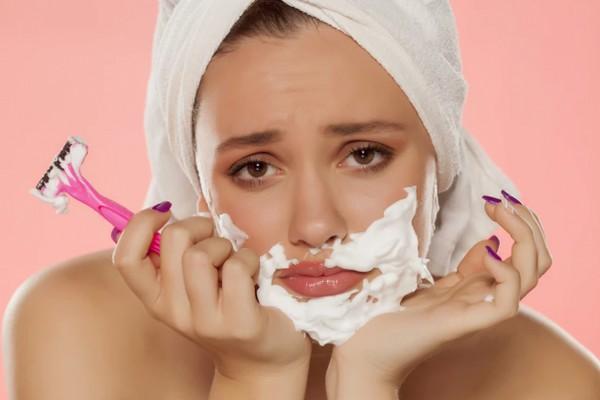 3 способа удаления волос на лице в домашних условиях