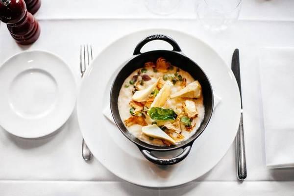 Нежный крем-суп с шампиньонами рецепт