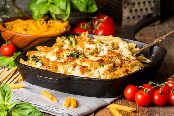 Ароматная запеканка из овощей на завтрак или ужин