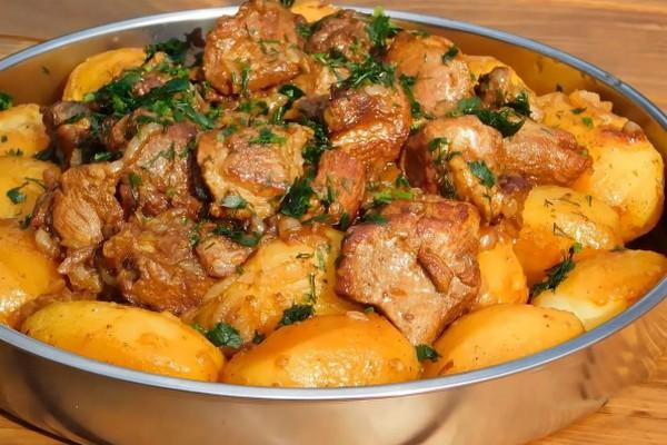 Картофель по-сибирски. Божественно вкусно!