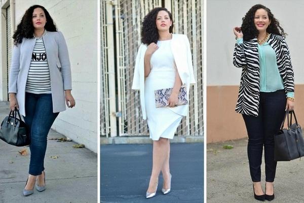 Как стильно и красиво одеваться полным женщинам