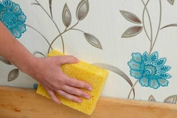 Как очистить пятна на обоях: 6 невероятно простых способов
