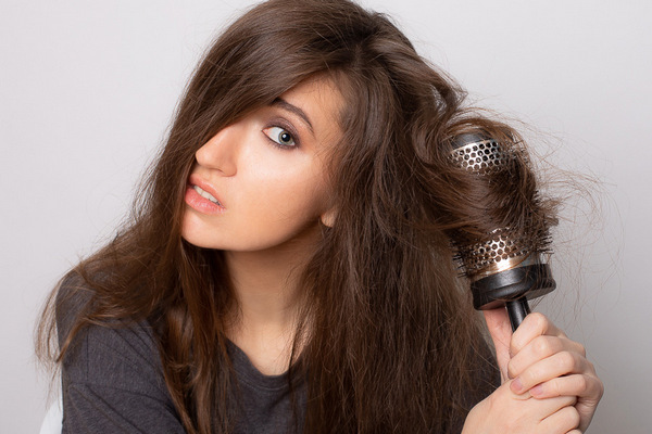 Простая укладка волос
