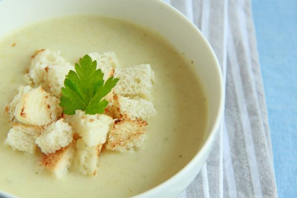 Вкуснейший крем-суп из кабачков