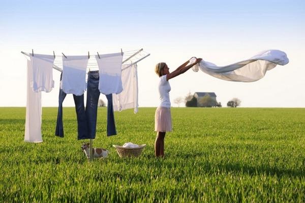 Как правильно сушить белье после стирки: несколько хитростей