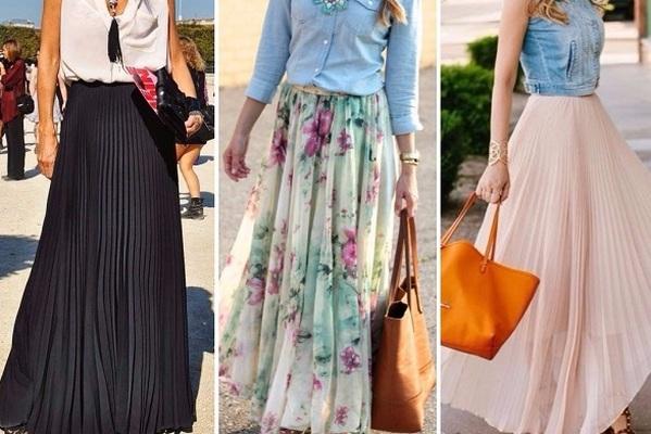 С чем носить юбки макси: 7 универсальных сочетаний на любой случай