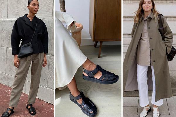 «Рыбацкие» сандалии: как носить самый спорный тренд года
