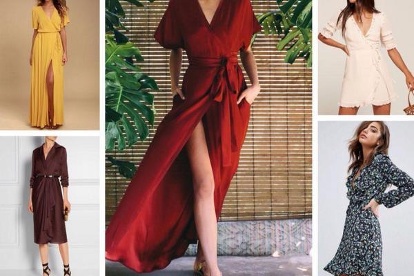 Что такое платье на запах и как его правильно носить
