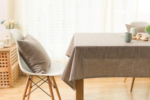 Правила ухода за столовым льняным бельем
