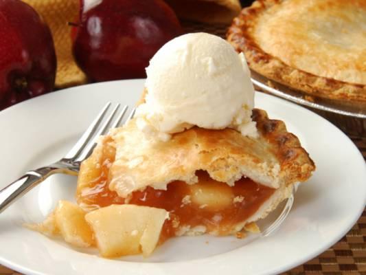 Пирог «Яблочное свидание»