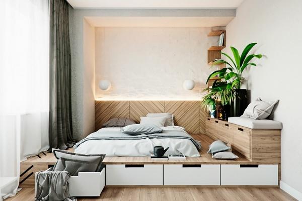 Спальня как идеальное место для сна