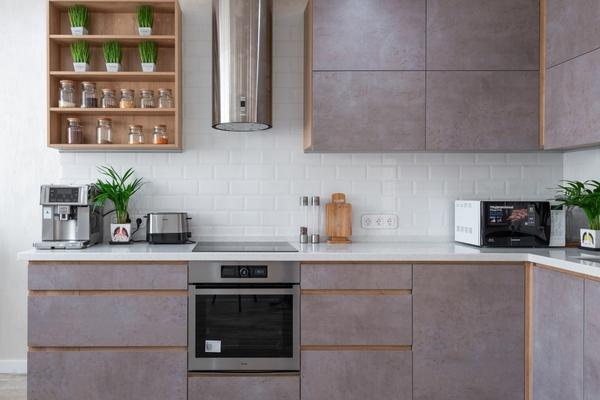 Кухня в стиле хай-тек – красота и практичность