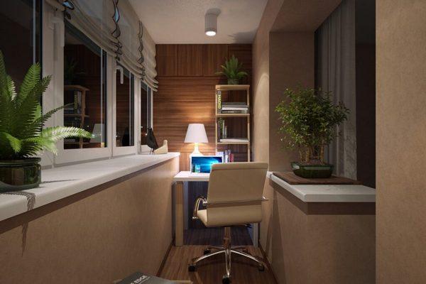 Как сделать личный кабинет даже в самой маленькой квартире? Лайфхаки